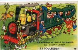 LE POULIGUEN CARTE A SYSTEME GABY 19 - Le Pouliguen