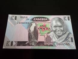 ZAMBIA 1 KWACHA - ONE KWACHA - UNC - Zambie