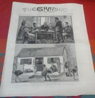 The Graphic N° 586 19 Février 1881 Empire Britannique Rebellion Au Transvaal, Basutoland,Valentine's Day In Ireland... - Revues & Journaux