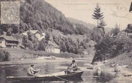 Frontière Franco-Suisse - La Verrerie Du Bief-d'Etoz - Cartes Postales