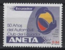 Ecuador (2001) Yv. 1553  /  Club - Cars - Voitures - Coches - Auto's