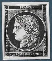 Cérès 170 Ans Du Premier Timbre Poste Français (2019) Neuf** - Neufs