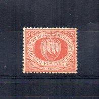 San Marino - 1877 - Stemma - 20 Centesimi - Nuovo ** - (FDC14513) - Nuovi