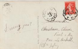 """FRANCE : AMBUNLANT-CONVOYEUR PK PZ (Fr) """" ANGOULEME A MATHA / 1° / 30 MARS 22"""" - Railway Post"""