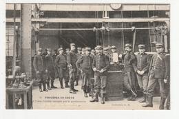 FOUGERES EN GREVE - L'USINE CORDIER OCCUPEE PAR LA GENDARMERIE - 35 - Fougeres