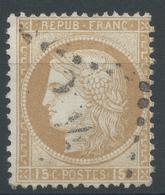 Lot N°46818  Variété/n°55, Oblit GC, Griffe De A De FRANC A La Tête - 1871-1875 Ceres