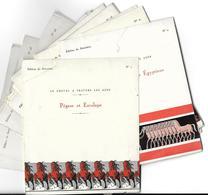 LOT De 37 Images LE CHEVAL à TRAVERS Les AGES (horse Pferd Cavallo Caballo Edition Du Spectrol )   (Histoire) - Vieux Papiers