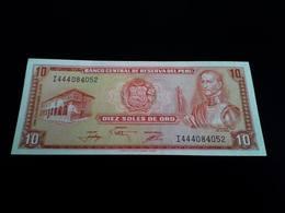 Peru 10 Soles De Oro  UNC - Pérou