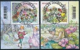 1684-1585 Mit TABS Und  Mit ET-Vollstempel LES DIABLERETS - Schweiz
