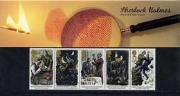 GB GREAT BRITAIN 1993 SHERLOCK HOLMES CENTENARY FINAL PROBLEM PRESENTATION PACK No 241 +ALL INSERTS CONAN DOYLE AUTHOR - Scrittori