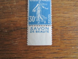 C 80    SEMEUSE 30C  SAVON BLANC - Advertising