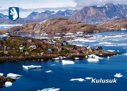 Greenland Kulusuk View New Postcard Grönland AK - Greenland