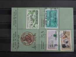 D2 - Timbres Fiscaux Sur Permis De Chasse 1994 - Delivré à 73 - Aime - Timbre Grand Gibier - Revenue Stamps