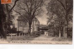 Martigné-Briand Le Château De Flines La Porte D'entrée - Sonstige Gemeinden