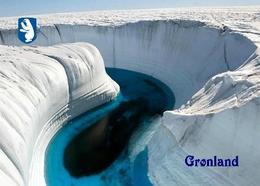 Greenland Melting Glacier Aerial View New Postcard Grönland AK - Groenland