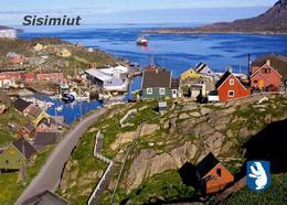 Greenland Sisimiut View New Postcard Grönland AK - Greenland