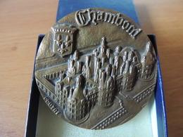 Médaille Chateau Chambord, Coutre, Bronze, 1982 - Frankrijk