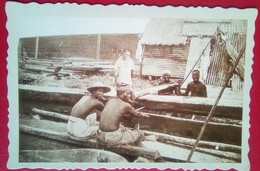 Boat Builders , Turn Of The Century Philippines - Philippines