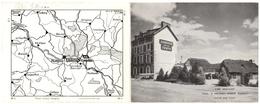 29 HUELGOAT GARE - Auberge De La Truite - Locmaria Berrien - Dépliant Publicitaire - Finistere - Huelgoat
