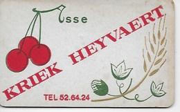 BRASSERIE MALTERIE HEYVAERT ASSE. KRIEK. GEUZE. RARE SOUS BOCK, EXPO 58 DOUBLE FACES - Publicités