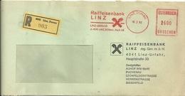 BANCHE   RAIFFEISENBANCK LINZ  OSTEREICH  1982 - Banques