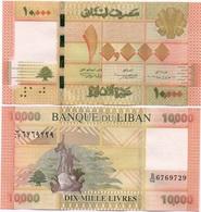 Lebanon - 10000 Livres 2012 / 2014 Pick 92 UNC Lemberg-Zp - Liban