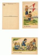 SCOUT - SCOUTISME - Lot De 6 Cartes Postales - Illustrateur J. IDRAC (fr71) - Autres Illustrateurs