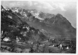 VADUZ → Fürstl. Schloss Vaduz, Fotokarte Ca.1950 - Liechtenstein