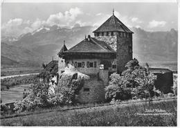 VADUZ → Fürstl. Schloss Vaduz Anno 1951 - Liechtenstein