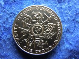 ISLE OF MAN 1 CROWN 1980 KM67 - Monnaies Régionales