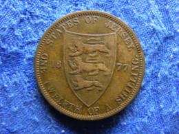 JERSEY 1/12 SHILLING 1877 KM8 - Jersey