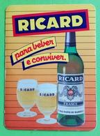 Calendrier De Poche Ricard 1986 - Calendriers