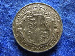 GREAT BRITAIN 1/2 CROWN 1916, KM818.1 - Sonstige