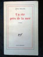 Anne Philipe: Un été Près De La Mer/ Gallimard-Nrf, 1977 - Livres, BD, Revues