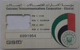 Etisalat GSM Card  [NO SIM] United Arab Of Emirates - Ver. Arab. Emirate