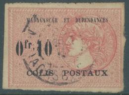 MADAGASCAR - 1919 - USED/OBLIT.  -  Yv 3a VIRGULE AU LIEU DE POINT - Lot 19225 - SHORT ! PRIX REDUIT - Madagascar (1889-1960)