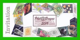 BUZIN - Invitation Phil@brogne 2019 - 1985-.. Birds (Buzin)