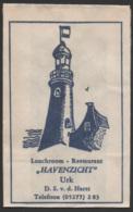 Netherlands, Flevoland, Sugar Bag, Suikerzakje, Rest. Havenzicht, Urk - Suiker