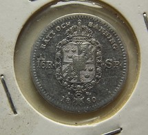 Sweden 1/16 Riksdaler 1850 Silver - Suède