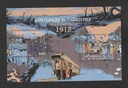 FRANCE / 2018 / Y&T N° 5284/5285 ** En Bloc Ou F5284 ** : Feuillet Centenaire Armistice 1918 - Neuf ** - Sheetlets