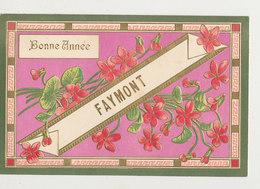 88 FAYMONT BONNE ANNEE CPA GAUFRE BON ETAT - France
