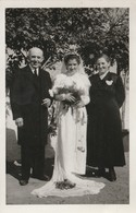 Braut Mit Eltern ?  ,  Ca.9 X 13 Cm - Couples