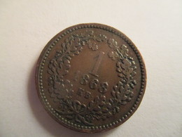 Hungary 1 Kreuzer 1868 - Hongrie