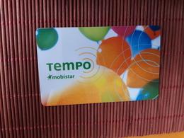 Prepaiscard Tempo Mobistar 500 BEF Used. - Belgique