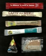 6 Bustine Zucchero Italia Varie - Lotto 37 - Zucchero (bustine)