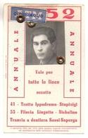 "09044 ""TESSERA NR. 38939 - AZIENDA TRANVIE MUNICIPALI TORINO - 1952"" ORIG. - Europa"