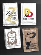 4 Bustine Zucchero Italia - Misto 12 - Zucchero (bustine)