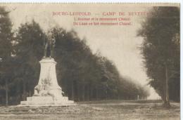 Kamp Van Beverloo - Camp De Beverloo -  L'Avenue Et Le Monument Chazal - Imp. S.A. Notre Pays - 1928 - Leopoldsburg (Camp De Beverloo)
