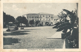 MONTEGROTTO TERME - TERME PETRARCA - FORMATO PICCOLO - VIAGGIATA 1949 - (rif. G06) - Padova