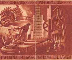 """09045 """"TESSERA NR. 35482 - 3 LEGA TESSILI - CAMERA DEL LAVORO DI TORINO E PROVINCIA - 1945"""" ORIG. - Biglietti D'ingresso"""